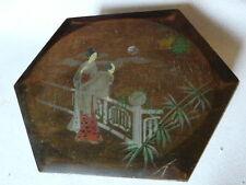 BOITE BIJOUX ou COUTURE en bois décor japonisant LA ESTRELLA