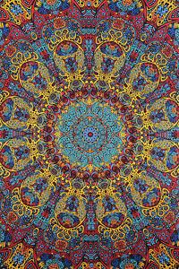 3D TAPESTRY-SUNBURST-Psychedelic-FREE GLASSES 60X90 Grateful, Phish,Moe,Umphreys