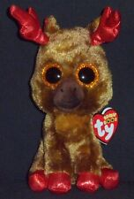 """TY BEANIE BOOS - MAPLE the 6"""" MOOSE - MINT TAGS - CANADA EXCLUSIVE"""