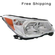 Halogen Head Lamp Assembly RH Side Fits Subaru Forester 2.5L Engine SU2503145