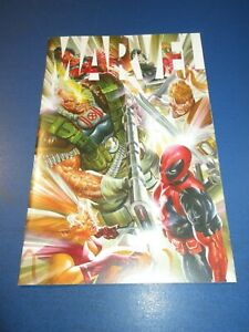 Marvel #4 1st Alex Ross Cable 2nd Alex Ross Deadpool Key NM Gem Wow