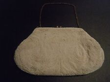 Vintage Jolles Original Mirco Beaded Purse Hand
