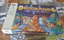 JEU DE SOCIETE DOCTEUR MABOUL VINTAGE MB JEUX 1999 collector complet