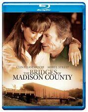 Blu Ray THE BRIDGES OF MADISON COUNTY. Clint Eastwood. Region free. New.