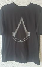 Assassins Creed  Men's XL T-Shirt Black Cotton XLarge  Short Sleeves