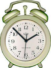 238201F Keramik Küchenuhr Wecker Form hellgrün-grün handgemalt Artline Funkuhr