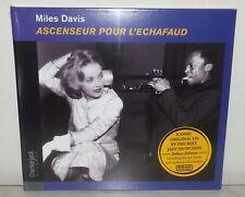 CD MILES DAVIS - ASCENSEUR POUR L'ECHAFAUD - DIGIPAK - NUOVO NEW
