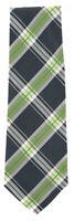 "New Finamore Napoli Dark Green Plaid Tie - 3.25"" x 57"" - (TIEWNPX254)"