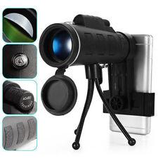 Night Vision 40x60 Single Mini HD Monocular Phone Camera Lens Hunting Telescope