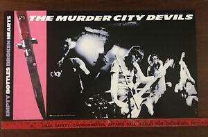 The Murder City Devils Empty Bottle Broken Hearts promotional poster Sub Pop