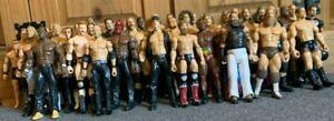 WWE MATTEL & JAKKS FIGURE BUNDLE 40+ FIGURES ELITE - CLASSIC SUPERSTARS RARE