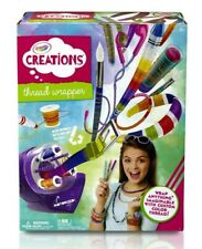 Crayola Thread Wrapper Girls Fun Toy Colorful Wrapping Arts Crafts Fashion NEW