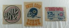 Chicago Cubs & Bears & White Sox Vintage Newspaper Transfers Set of 3 1977