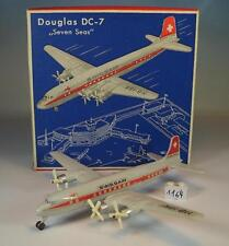 Siku Plastik 1/250 Siku Flugzeug F9a Douglas DC-7 Seven Seas Swissair OVP #1164