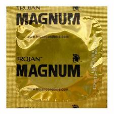 ~TROJAN MAGNUM Condoms ~ 100 Pack ~