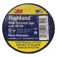 3m Highland Vinyl Electrical Tape 34 X 66ft 22yd Flame Retardant Usa Made
