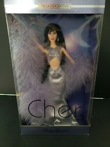 NEW IN BOX MATTEL 2001 TIMELESS TREASURES CHER DOLL BOX IS IN MINT Condition