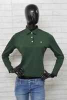Polo BROOKSFIELD GOLF Donna Woman Taglia M Maglietta Shirt Camicia Maglia Verde