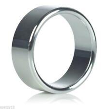 Silver Metal 40mm Penis Ring Medium Erection Enhancer Impotence Sex Aid