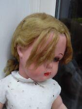 Très jolie poupée Bella Bonomi  en rhodoid  de 44cm