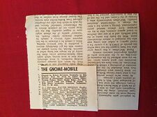 m76a ephemera 1967 film review the gnome mobile brennan garber dotrice