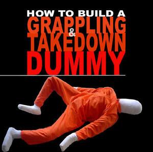 Build a Grappling Takedown Jiu Jitsu Wrestling Martial Arts Dummy Book on CD