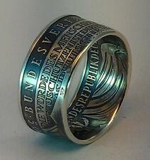 Münzring  10 DM  *50 Jahre Bundesverfassungsgericht* 925er Silber  Gr. 54 - 74