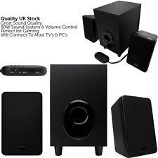 CALIDAD 2.1 PC portátil Sonido Envolvente Sistema De Altavoces – Active TV