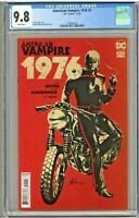 American Vampire 1976 #1 CGC 9.8 1st First print Edition DC Black Label Snyder
