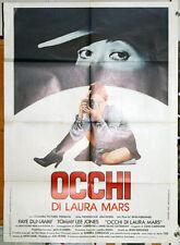 Faye Dunaway OCCHI DI LAURA MARS manifesto 2F originale 1978