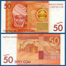 KIRGISIEN  / KYRGYZSTAN  50 Som  2009  UNC  P. 25