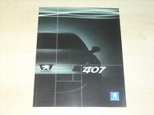 27749) Peugeot 407 Coupe Preise & Extras Prospekt 2005