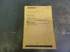 Caterpillar Cat 920 Wheel Loader Parts Manual Ueg0693s
