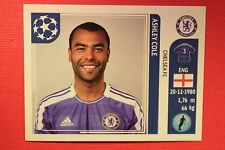 PANINI CHAMPIONS LEAGUE 2011/12 N. 282 ASHLEY COLE CHELSEA WITH BACK BACK MINT!!