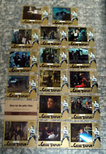 BRUCE LEE * FURY OF THE DRAGON - 16 Lobby Cards complete SET German RR´83 KATO