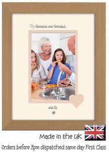Grandma and Grandad Photo Frame Portrait 6x4 Grandma Grandad and Us 1015F