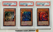 PSA 9 - Yugioh - Sacred Beasts Set - Legendary Collection - Duel Academy Years