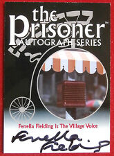 THE PRISONER - FENELLA FIELDING Autograph Card PA4 - Factory Entertainment 2010