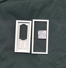 Stanford Door Half 1/24 Scale Door by Bespaq S802WO style dollhouse miniature