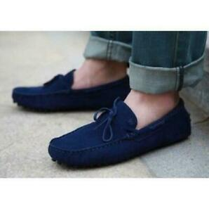 Fashion Loafers Gommino Moccasins suede Mens casual Driving slip ons boat Shoes