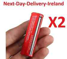 2x 18650 3.7v Rechargeable Battery Batteries Flashlight Headlamp Lamp Laser