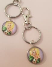 Ru Paul Drag Race Face Queen TV Illustration draw Keyring Bag Charm Gift Tag
