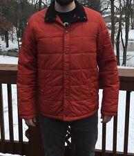 Men's Lands' End Jacket Orange Size Large Tall 42-44 AWESOME CONDITION