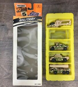 Matchbox Military 5 Pack Gift Set #060032 1995 Collectible (MISSING THE TANK)