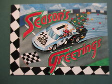 1995 Press Pass Season's Greetings Post Card NASCAR