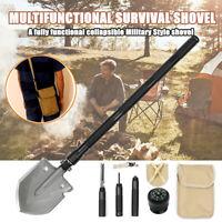 UK Military Folding Shovel Survival Spade Emergency Camping Hiking Hunting Tool