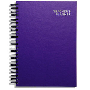 Pirongs A4 Academic Teachers' Planner 5 Lesson Day Edition - 44 Cover Designs