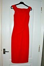 KAREN MILLEN Red Dress Size 6 Worn ONCE