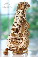 UGears Hurdy-Gurdy - Wooden Mechanical Model - 292 Pieces