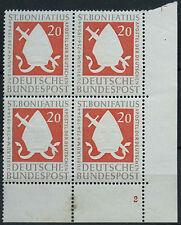 West Germany 1954 SG#1125 St. Bonifire MNH Block Cat £46 #D4608